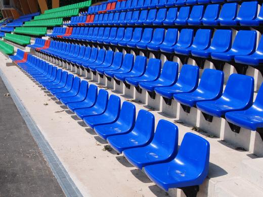 Daplast Stadium Seating Fibreglass Brackets